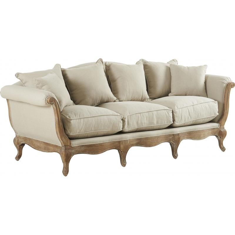 Sofa Pompadour Biscuit Antic  - TIMELESS SOFA
