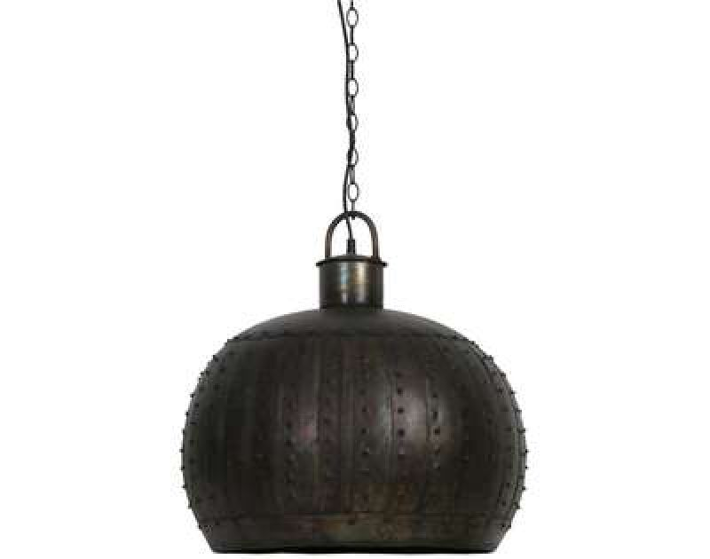 HANGINGLAMP BLACK ZINC 55      - HANGING LAMPS