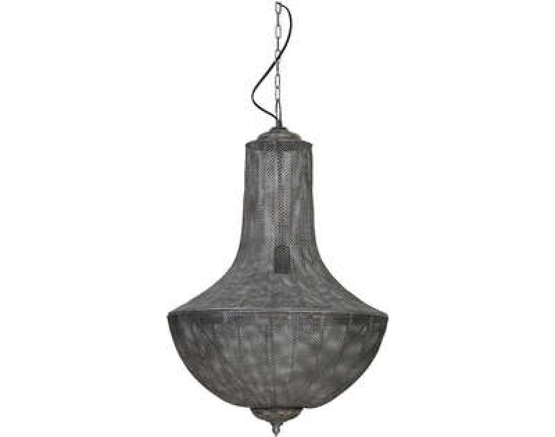 HANINGLAMP ANTIQUE SILVER      - HANGING LAMPS