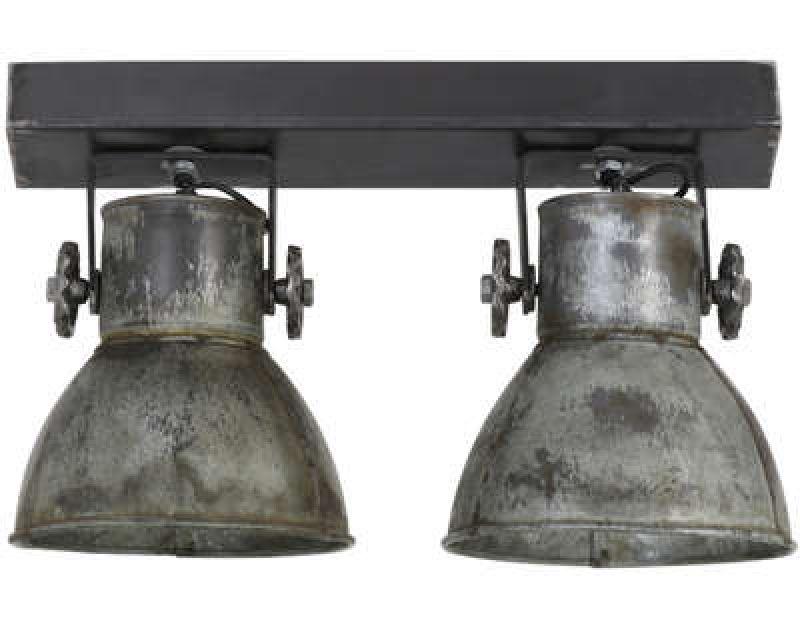 WALL LAMP 2 LIGHTS ZINK   - WALL LAMPS
