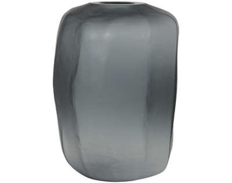 VASE AMORPH MATT GLASS GREY 45      - POTS, VASES, PLATES