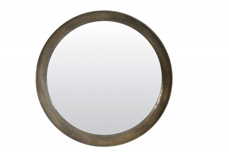 ANTIQUE SILVER MIRROR 120