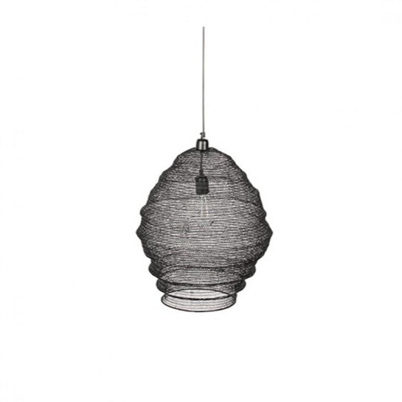 WIRE HANGING LAMP BLACK 60      - HANGING LAMPS