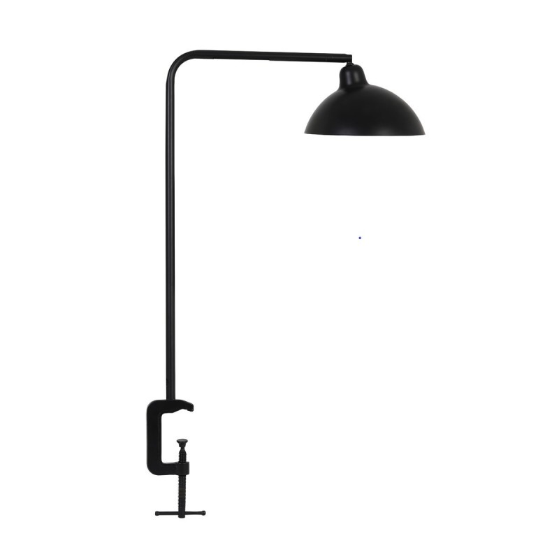 DESK LAMP MATTED BLACK WITH CLIP     - TABLE LAMPS