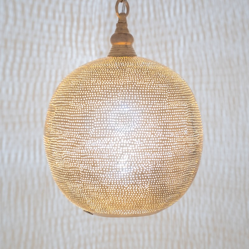 HANGING LAMP FLSK GOLD 30      - HANGING LAMPS