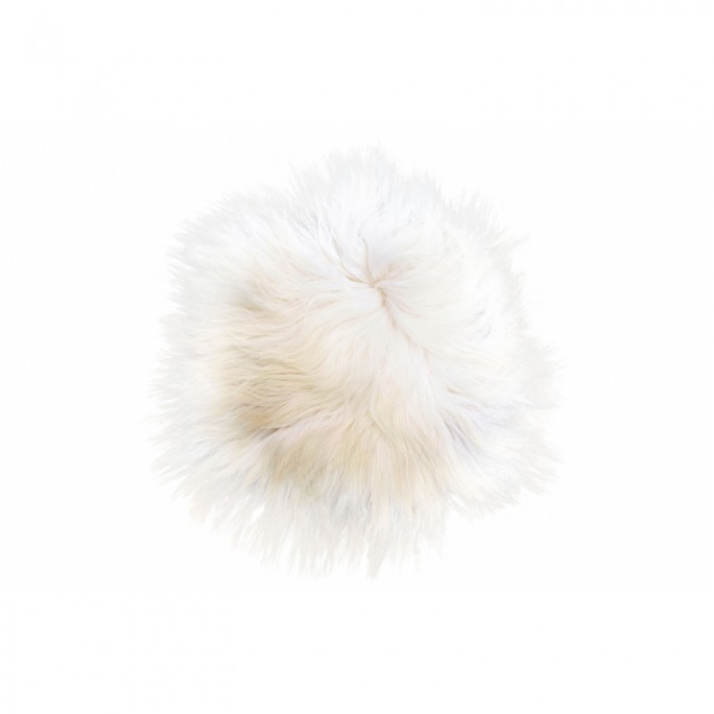 SHEEPSKIN SEAT WHITE     - CUSHIONS