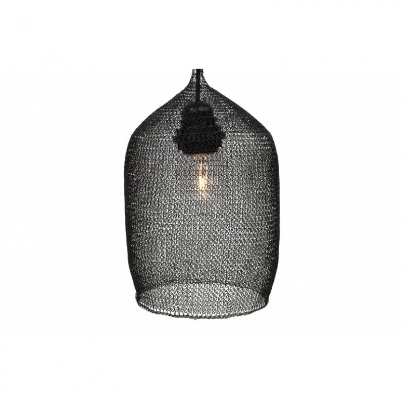 LAMP SHADE WIRE BLACK      - HANGING LAMPS