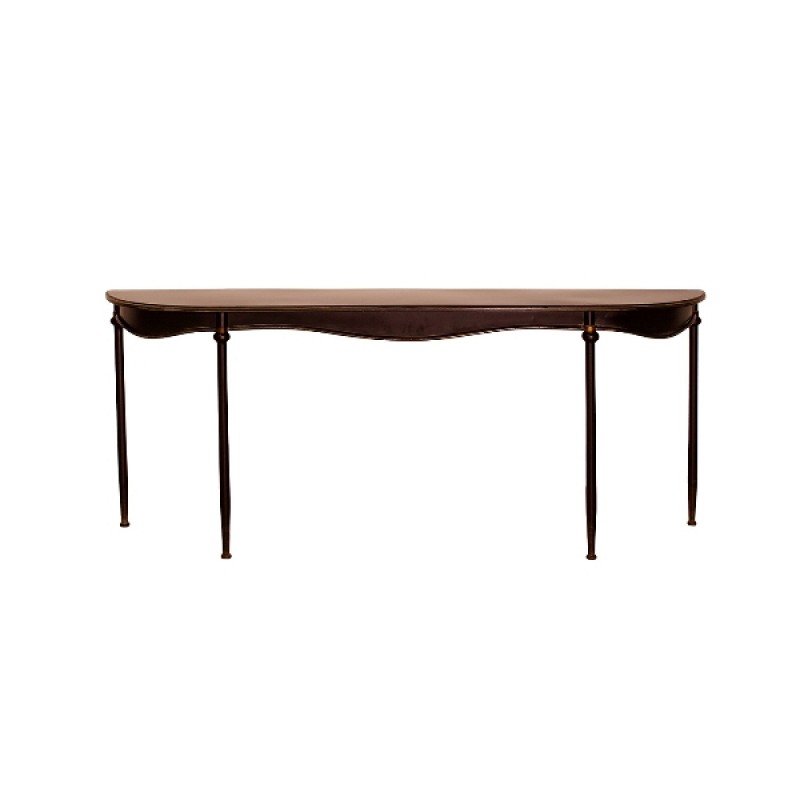 CONSOL LONG BLACK IRON - CONSOLS, DESKS