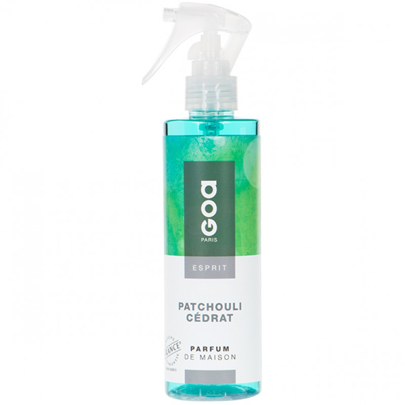 GOA HOME PARFUME SPRAY PATCHOULI CÉDRAT