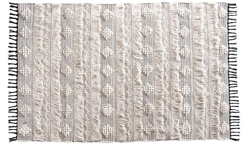 Cotton Rug Off-White