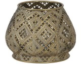 TEALIGHT APPLI GOLD S    - CANDLE HOLDERS
