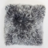 PILLOW TIBETIAN GREY OMBRE     - CUSHIONS