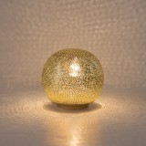 TABLE LAMP HARI BALL SMALL GOLD     - TABLE LAMPS