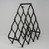METAL WINE RACK FOR 10 BOTTLES