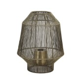 TABLE LAMP LAMPION WIRE BRONZE