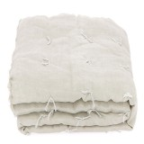 BED COVER DONDE NATUREL BEIGE   - BED COVERS