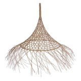 CONE LAMP GRASS NATURAL      - HANGING LAMPS