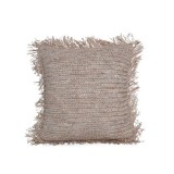 NATURAL RAFIA PILLOW     - CUSHIONS