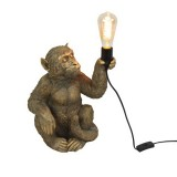 TABLE LAMP SITTING GOLDEN MONKEY     - TABLE LAMPS
