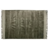 WARM GREEN RUG VISCOSE