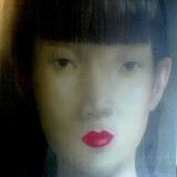 ASIAN GIRL ROUGE LIP - PAINTINGS
