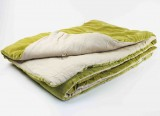 VELVET BED COVER DUSTYROSE - BLUE - YELLOWGREEN   - BED COVERS