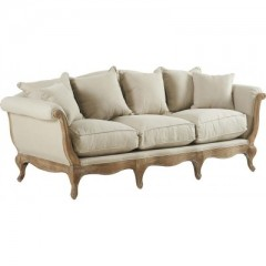 Sofa Pompadour Biscuit Antic