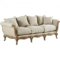 Sofa Pompadour Biscuit Antic - ROMATIC SOFA