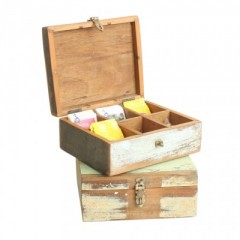 Scrapwood Tea Box