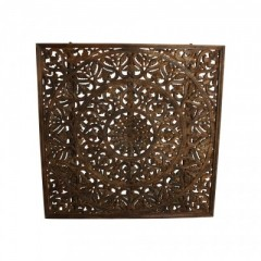 GOA FLOWER CARVING PANEL
