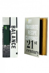 STORAGE BOOK BOX