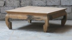 NATUR TEAK OPIUM CAFE TABLE 100