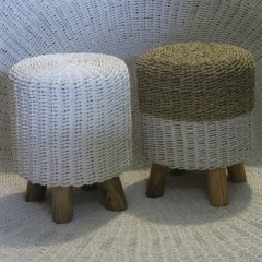 MAMA POUF SEAGRASS    - CHAIRS, STOOLS