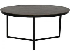 COFFEE TABLE ANTIQUE BRONZ MATT BLACK