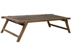 WOOD FOLDING COFFEE TABLE MILITARY