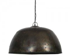 HANGING LAMP BLACK ZINC 72