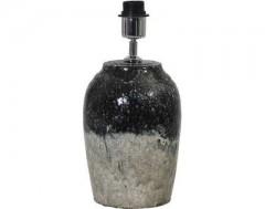 LAMP BASE CERAMICS BLACK NATURAL