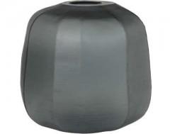 OPAL GREY GLASS VASE       - DECOR ITEMS