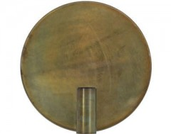 WALL LAMP DISC BRONZE