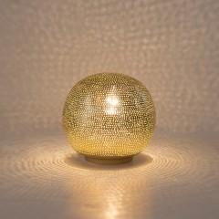 TABLE LAMP HARI BALL SMALL GOLD