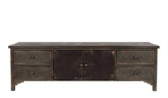 SIDEBOARD VINTAGE FINISH SOLID PINEWOOD