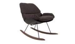 ROCKING CHAIR DARK GREY