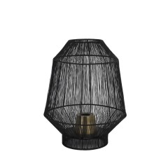 TABLE LAMP LAMPION WIRE BLACK     - TABLE LAMPS