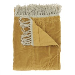BED COVER HOBO TABAC LARGE   - BED COVERS