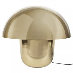 GOLD LAMP MUSHROOM     - TABLE LAMPS