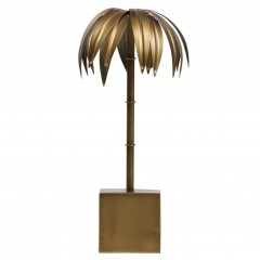 DECO PALM METAL ANTIQUE