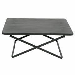 X SIDETABLE METAL BLACK
