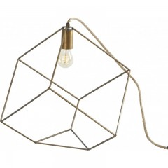 FLOOR LAMP CUBE CUT