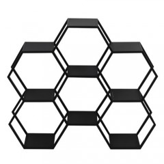 G2LL HEXAGON6 BLACK SHELF - CABINETS, SHELVES