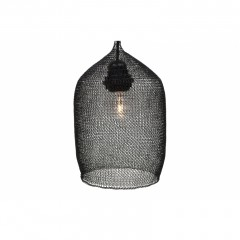 LAMP SHADE WIRE BLACK